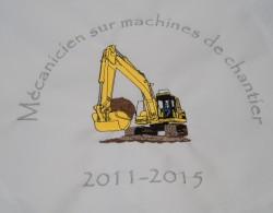 Mécanicien sur machines de chantier